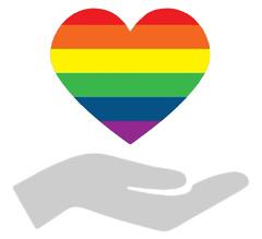 Orlando rainbow symbol
