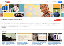 screenshot of NWI's YouTube page